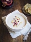 Creme Couliflour Suppe — Stockfoto