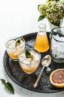 Kaffir Lime Cocktail — Stock Photo