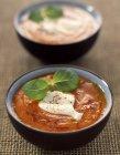 Crema di peperoni con mascarpone — Foto stock