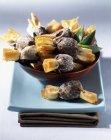 Caramelle e ananas croccante — Foto stock