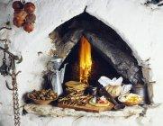 Crétois repas cuits — Photo de stock