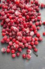 Heap of frozen cranberries — Stock Photo
