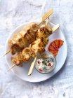 Petto di tacchino marinato — Foto stock