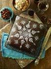 Gingerbread Christmas cake — Stock Photo