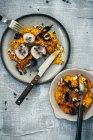 Purea di zucca e carote — Foto stock