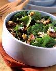 Салат из шпината — стоковое фото