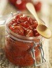 Tomates cherry en aceite - foto de stock