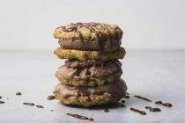 Panino del biscotto d'avena — Foto stock