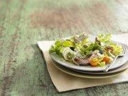 Blue cheese salad — Stock Photo