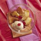 Arrosto di mele con gelatina — Foto stock