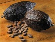 Vaina de cacao cabosse - foto de stock
