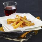 Homemade french fries — Stock Photo