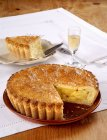 Italian apple pie — Stock Photo