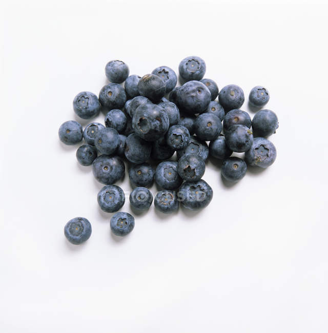 Pile Berries Blueberries — Stock Photo