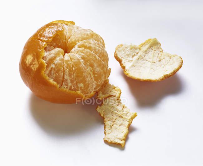 Частково очищені Tangerine — стокове фото