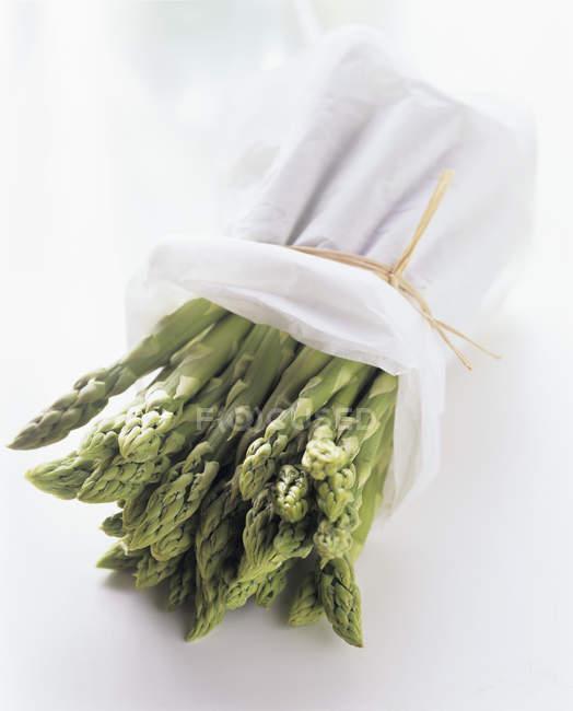Bundle of Green Asparagus — Stock Photo
