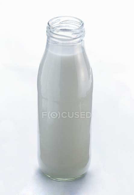 Full bottle of milk — Stock Photo