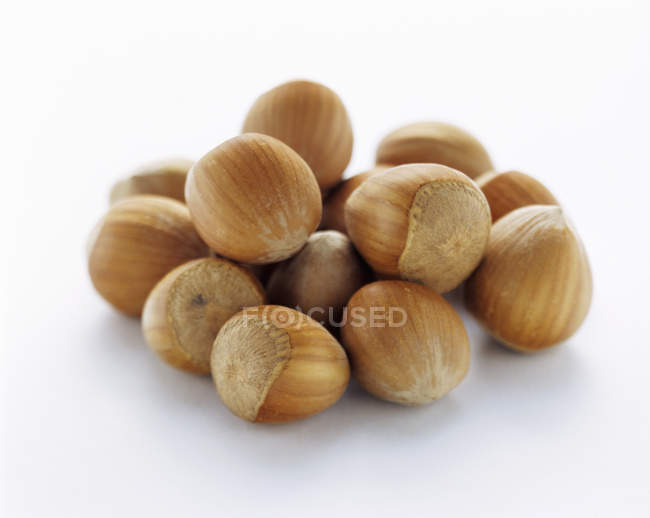 Pile of Chestnuts, macro — Stock Photo