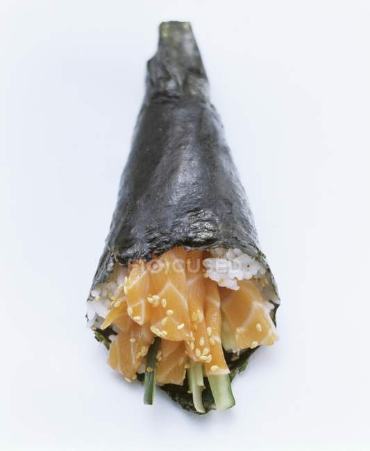 One Temaki Sushi — Stock Photo