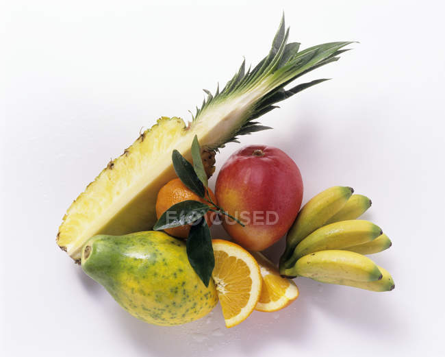 Tropical Fruits in heap — Stock Photo