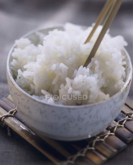 Tasty Bowl of Rice — Stock Photo