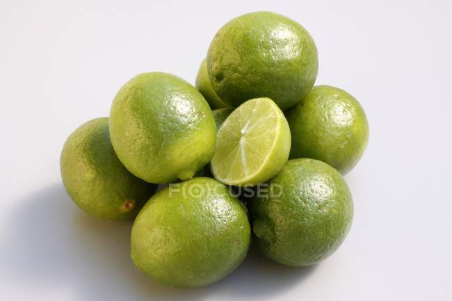 Limes chaves verdes — Fotografia de Stock
