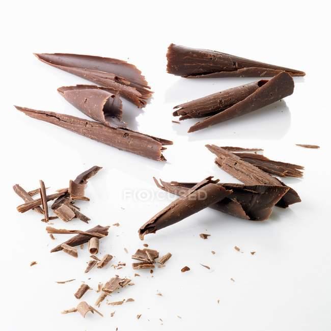 Темний шоколад і молочного шоколаду — стокове фото