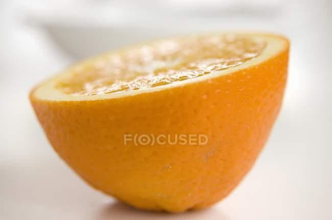 Closeup Half an orange — Stock Photo