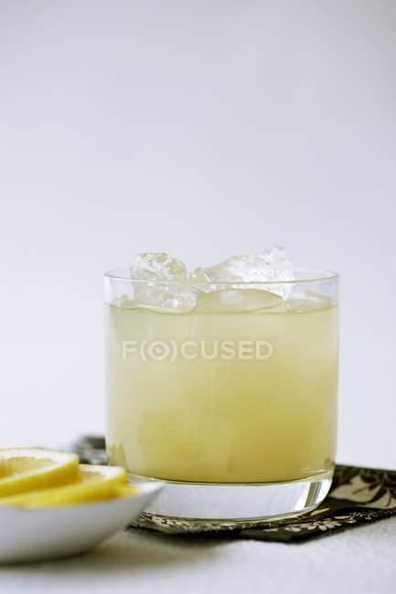 Pineapple Juice with Rum — Stock Photo