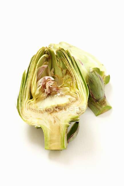 Fresh green artichok — Stock Photo