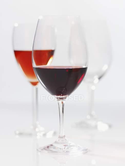 Various wine glasses — Stock Photo