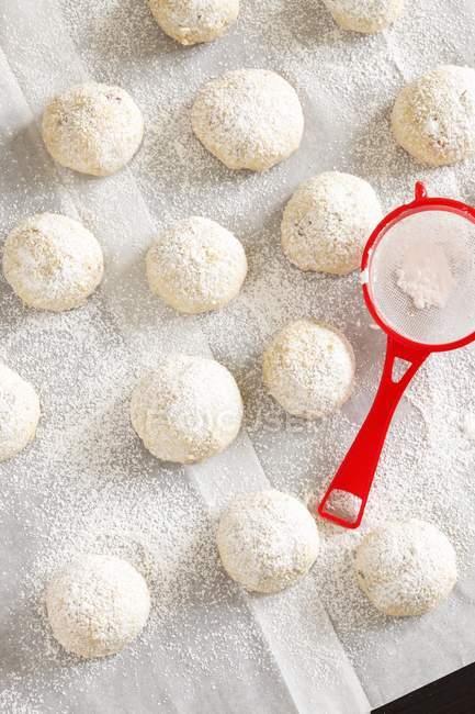 Свадьбу печенье с сахаром — стоковое фото