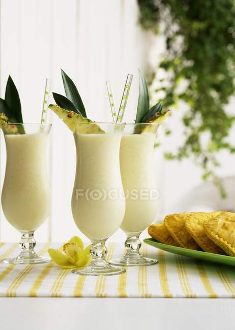Frozen Pina Coladas — Stock Photo