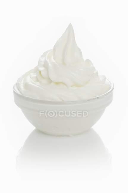Sorvete de iogurte — Fotografia de Stock