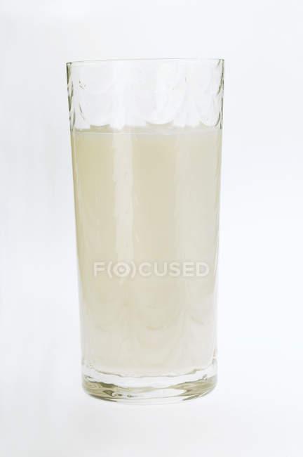 Vetro di latte gustoso — Foto stock