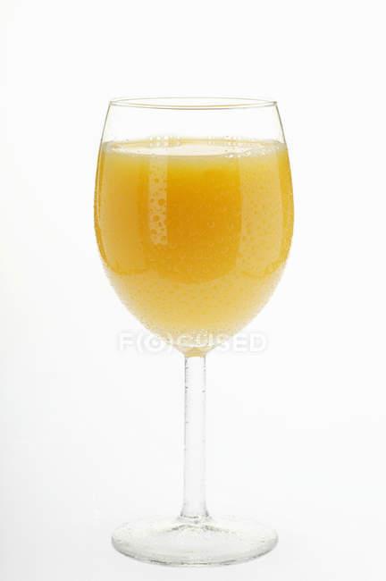 Cold orange juice — Stock Photo