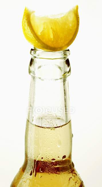 Botella de Ginger Ale - foto de stock