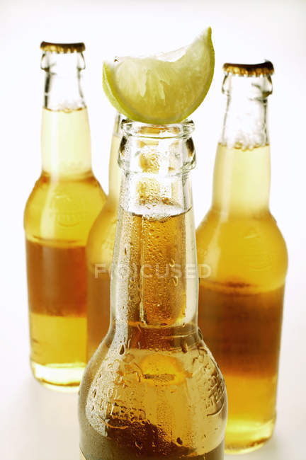 Ginger Ale with lemon — Stock Photo