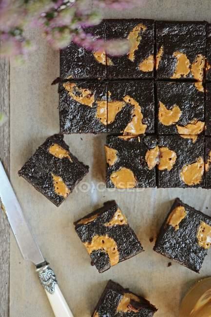 Просо тістечка з маслом — стокове фото