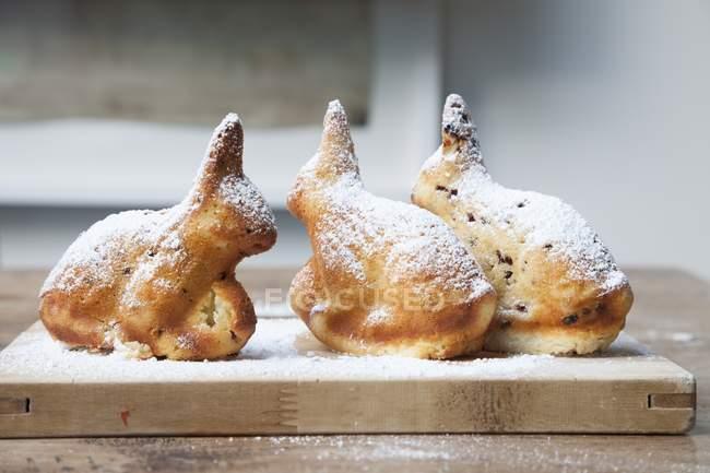 Пасхальный кролик торты — стоковое фото