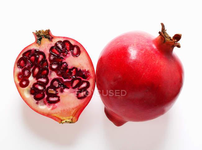 Fresh Ripe Pomegranates — Stock Photo