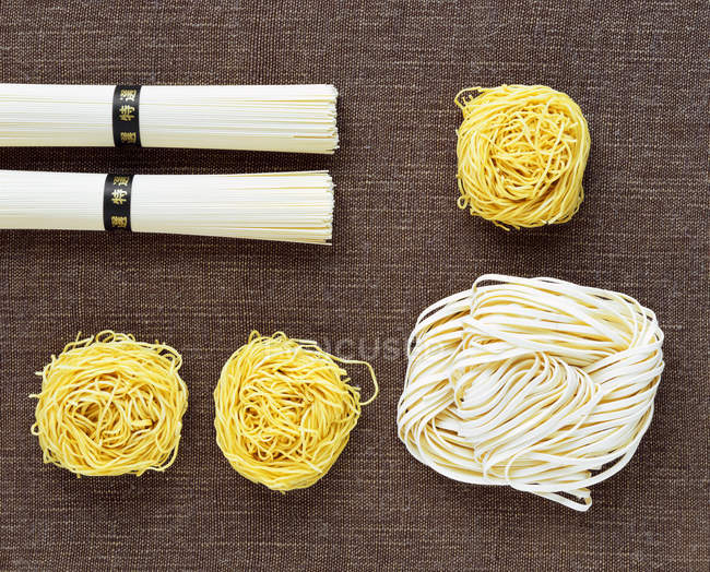 Vari tipi di pasta — Foto stock