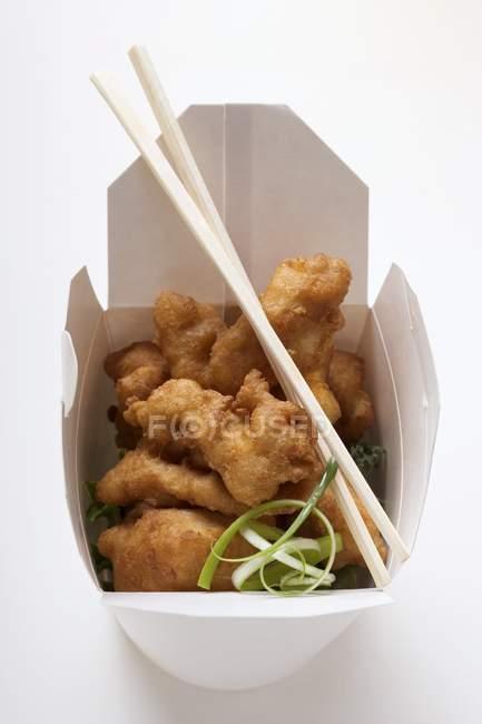 Pépites de poulet asiatique — Photo de stock