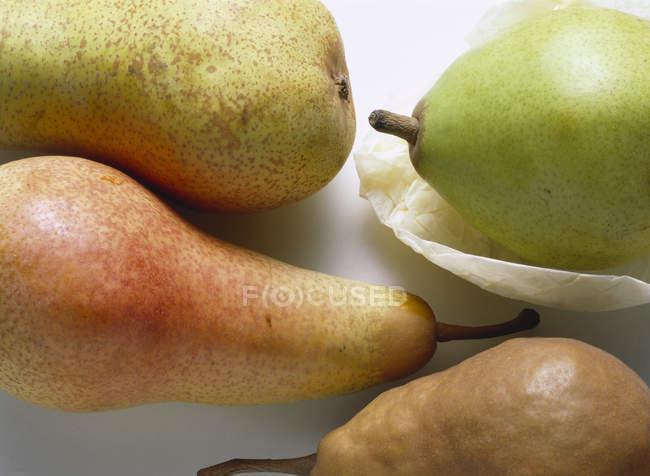 Peras frescas maduras — Fotografia de Stock