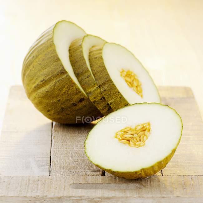 Fatias de melão doce — Fotografia de Stock