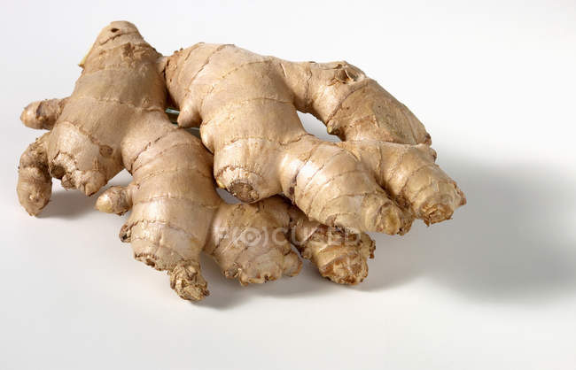 Fresh big ginger root — Stock Photo