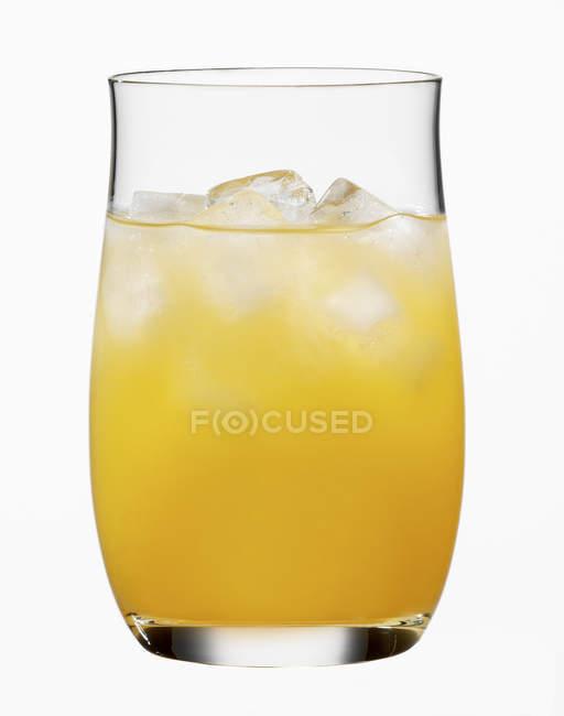 Glas Orangensaft — Stockfoto