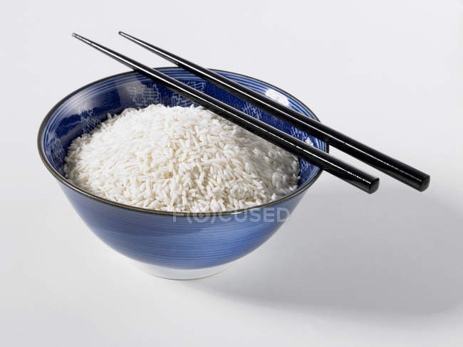 Bowl of long rice — Stock Photo