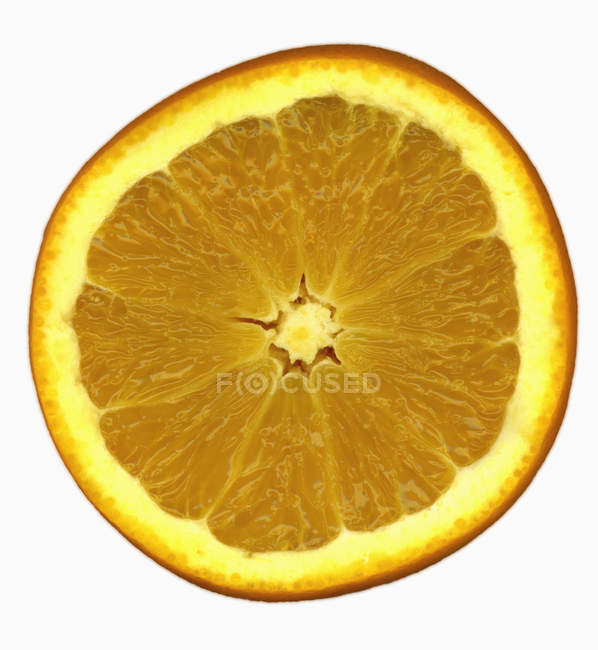 Fresh slice of orange — Stock Photo