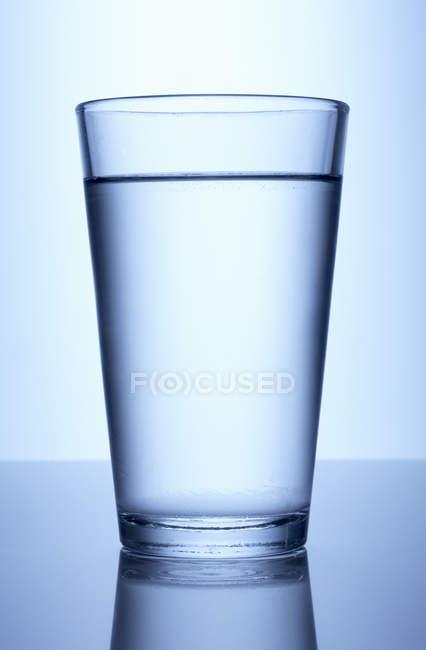 Glass of fresh water — Stock Photo
